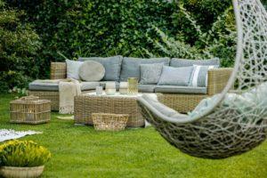 Modern designed garden